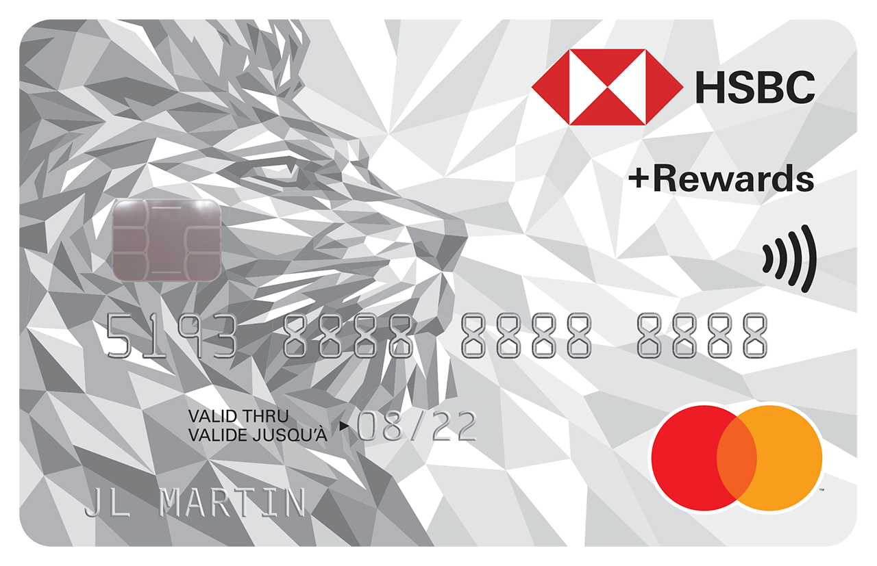 HSBC +Rewards Mastercard | HSBC Canada