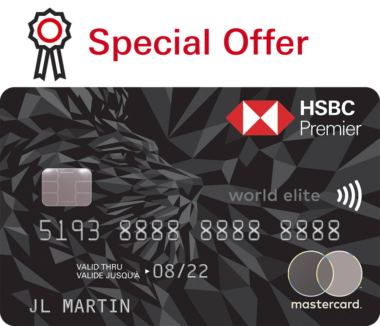 View full details to find out more about HSBC Premier World Elite Mastercard