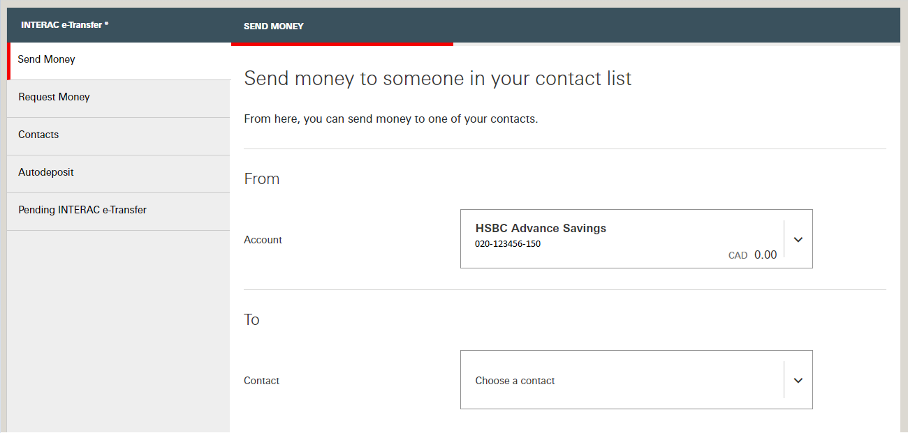Bill payments and transfers | Help & Support | HSBC Canada